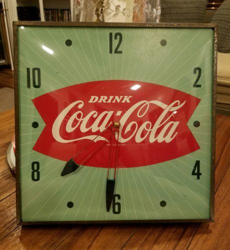 Coca-Cola Pam Clock