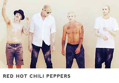 TWO RED HOT CHILI PEPPERS in NEW ORLEANS on 1/10/17 (Smoothie King Center)
