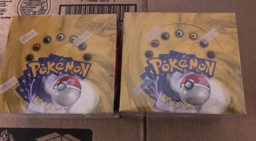Lot Of 3 1999 POKEMON BASE 36 Pack BOOSTER Box FACTORY SEALED 108 Packs Total
