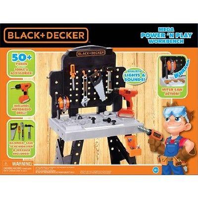 Black & Decker Exclusive Power N' Play Workbench