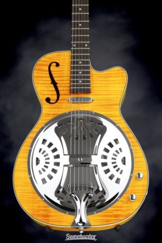 Washburn R45RCE Resonator - Amb (Guitar #16090001)
