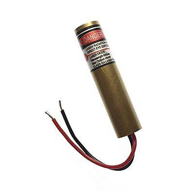 Diode Lasers farhop 5mW 650nm 5v Red Dot Laser Diode Module 13mm x 55mm