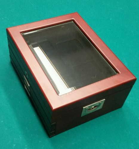 Legacy coin cabinet display box