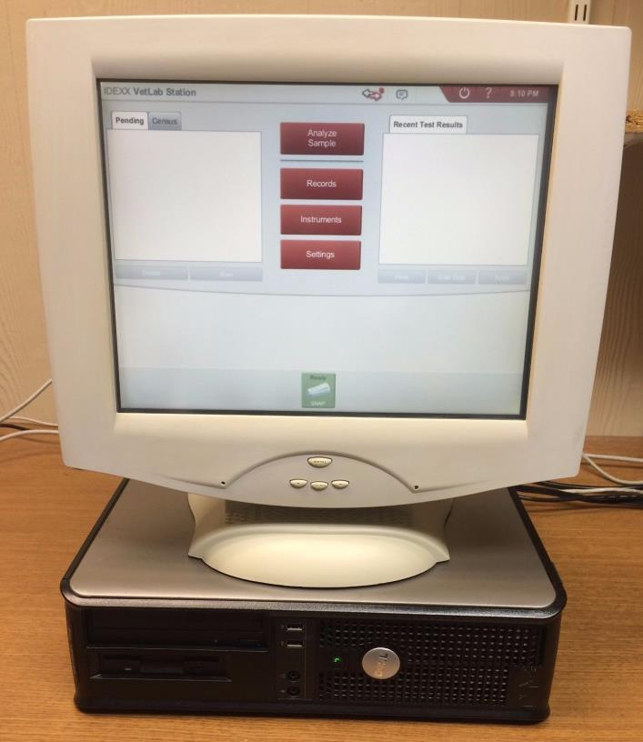 IDEXX VETLAB Station: PC, Touch Screen Monitor, Veterinary Lab Software Suite