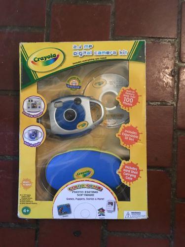 Crayola  Digital Camera Kit Kids 2.1 Mp