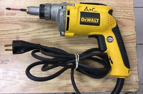 DEWALT DW272 VSR DRYWALL SCREWDRIVER Works AS IS See Pics