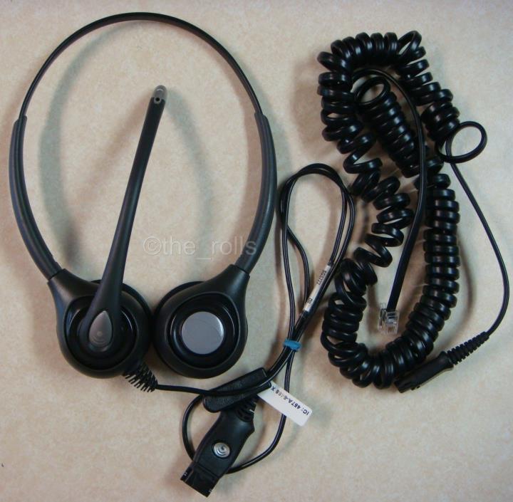 Plantronics SupraPlus H261N Boom Binaural Headset