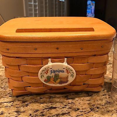 Longaberger Recipe Basket #17418