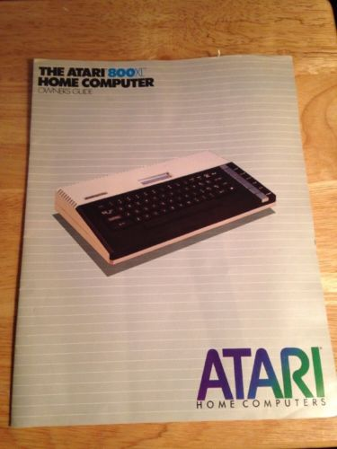 Vintage 1983 Atari 800XL Home Computer Owners Guide