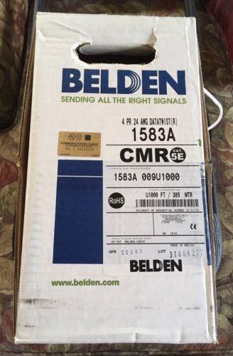 Belden 1583A Cat5E 777 ft. cable