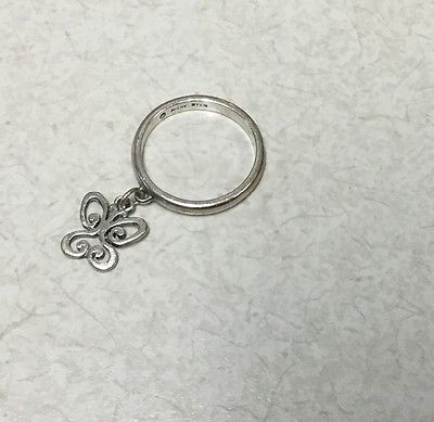 James Avery - Butterfly Dangle ring