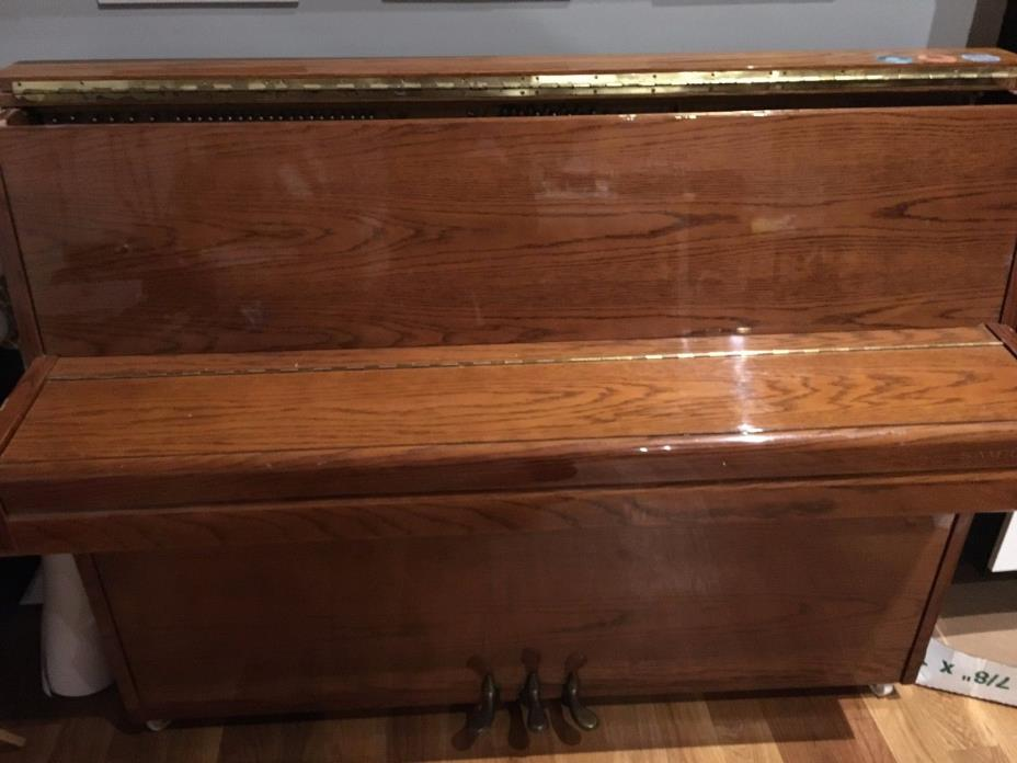 Samick Upright Piano + Piano Bench