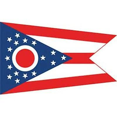 Ohio Flag On Stick 4