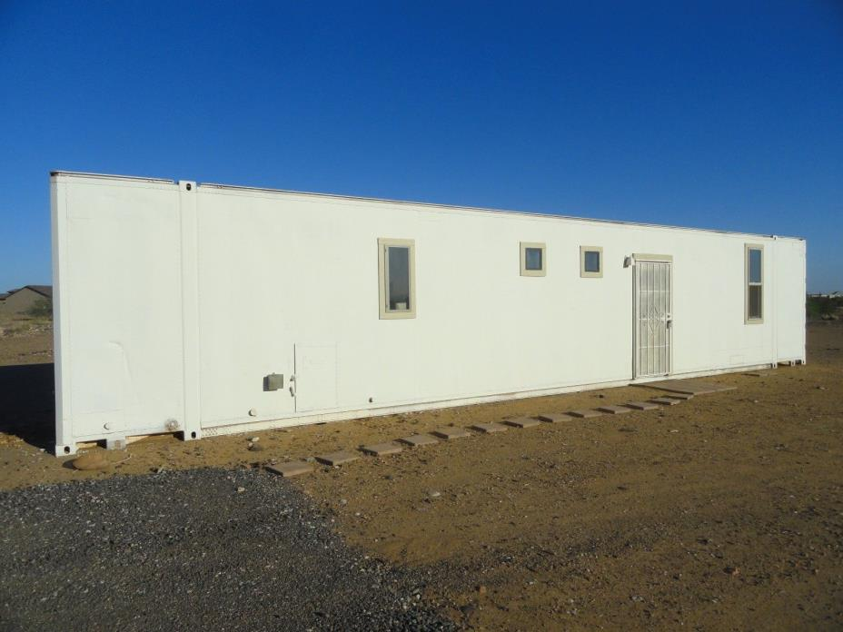 48' container home WOW HUGE self contained with bedrooms, bathroom, more!!!