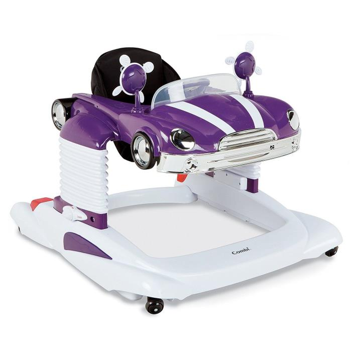 Combi Deluxe Retro Purple Car All in One Lights + Sounds Walker Entertainer NEW