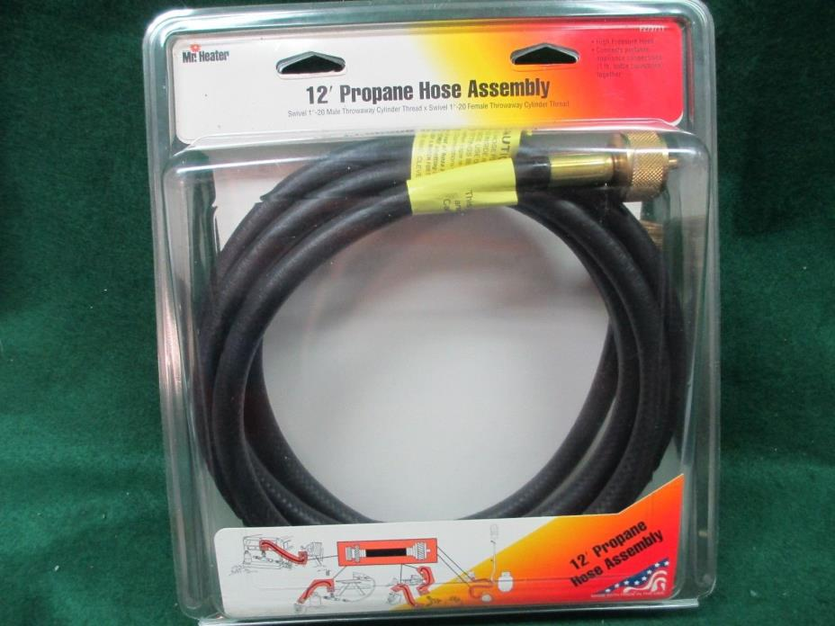 Mr. Heater 12 foot Propane Hose Assembly in original package  F273711 #1484/O2