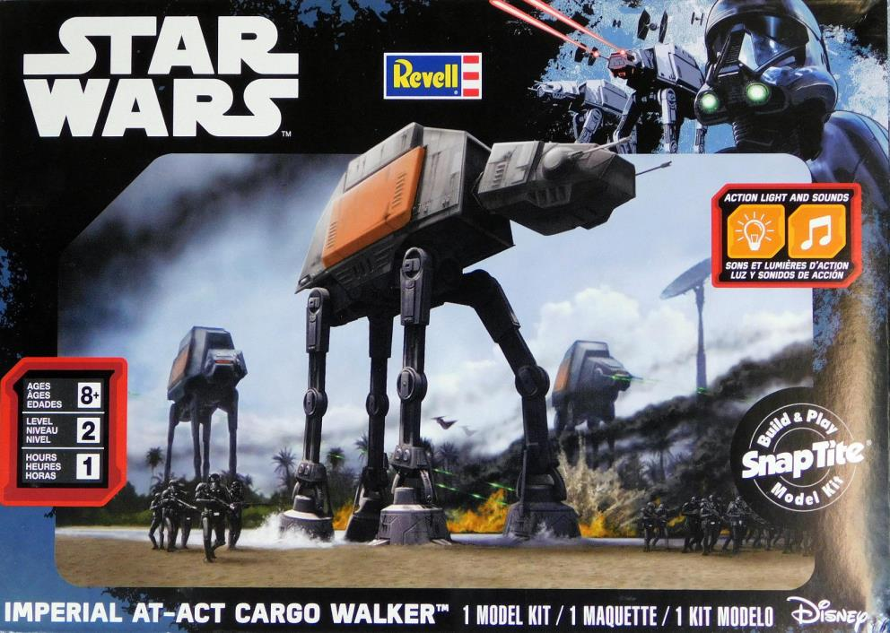 Revell Star Wars Imperial At-Act Cargo Walker 01636