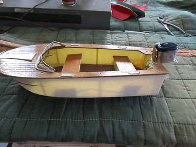 Toy Boat  Outboard Motor