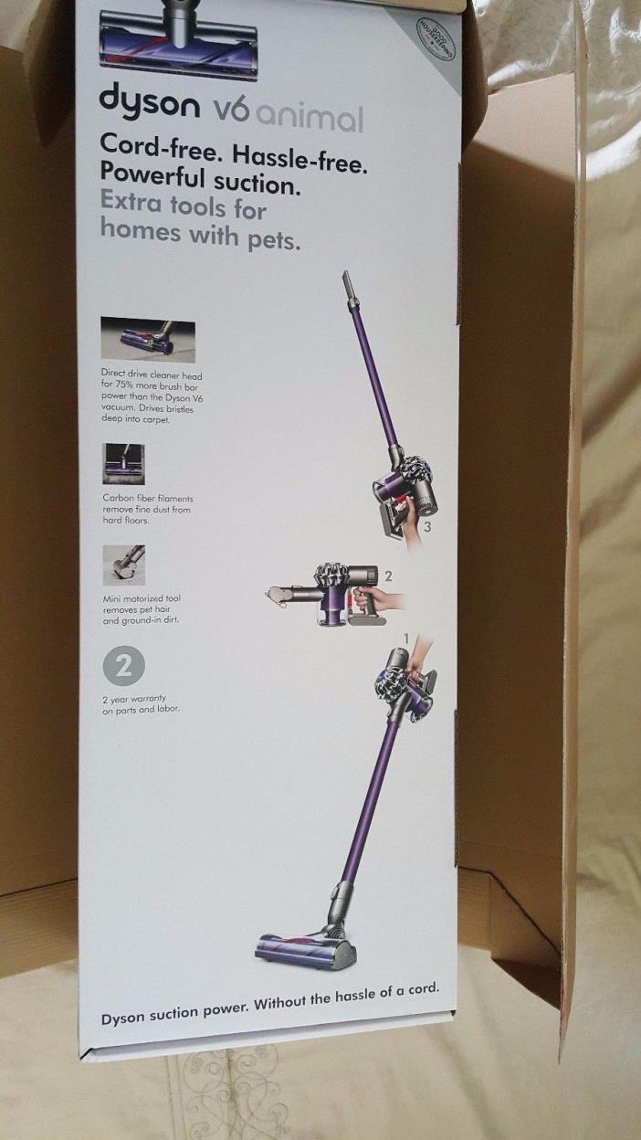 NIB - Dyson V6 Animal Cord-Free Stick Vacuum - Slate Gray
