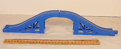 THOMAS THE TRAIN BLUE PLASTIC BRIDGE