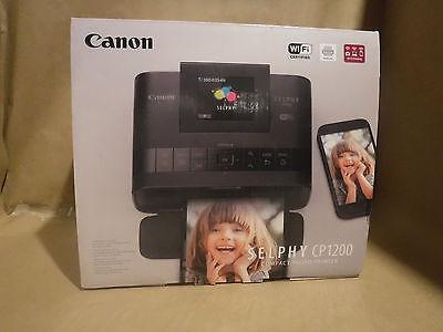 Printer Canon SELPHY CP1200 Wireless Compact Photo Printer - Black