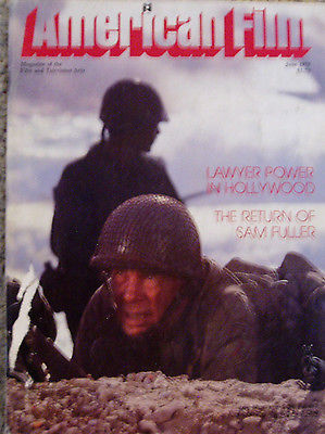 VINTAGE AMERICAN FILM INSTITUTE MAGAZINE-JUNE 1979- SAM FULLER