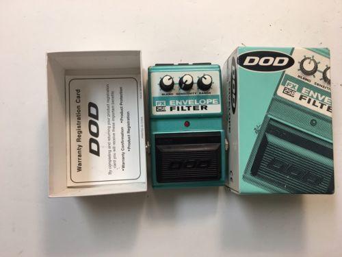 DOD Digitech FX25B Envelope Filter Auto Wah Rare Guitar Bass Effect Pedal