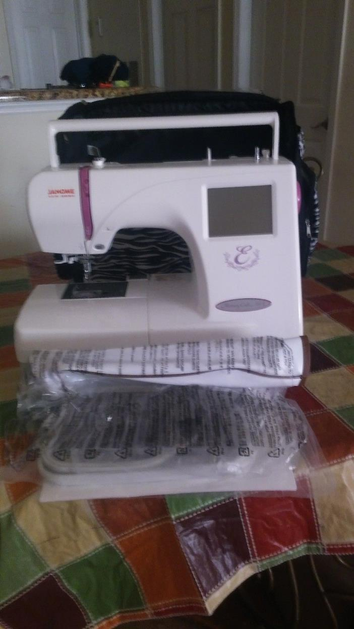 used janome embroidery machine