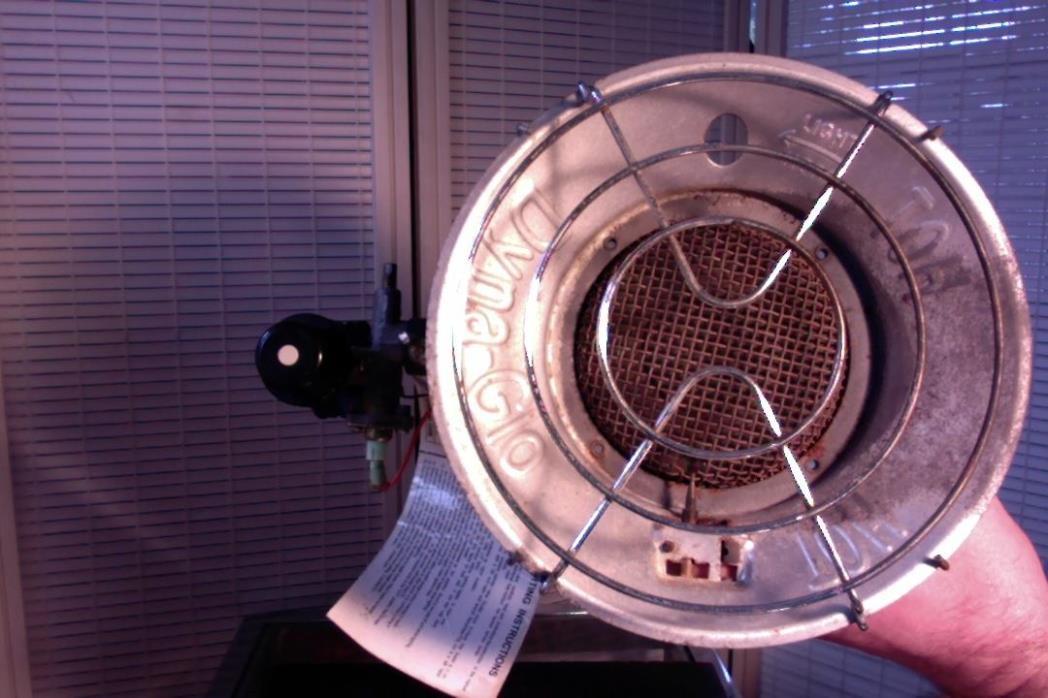 Single Tank Top Propane Gas Infrared Heater Portable Outdoor Dyna Glo