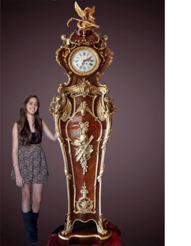 Extraordinary Museum recreation of monumental French Palace clock