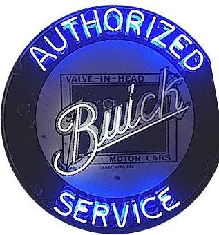 Buick Service Neon