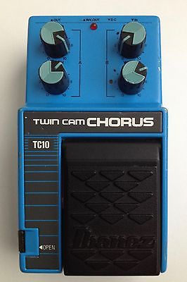 Ibanez TC10 Twin Cam Chorus Guitar Effect Pedal