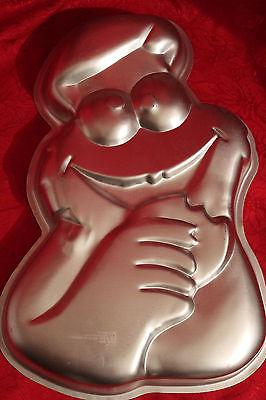 C VINTAGE WILTON CAKE PAN / 1977 MUPPETS COOKIE MONSTER CAKE PAN...