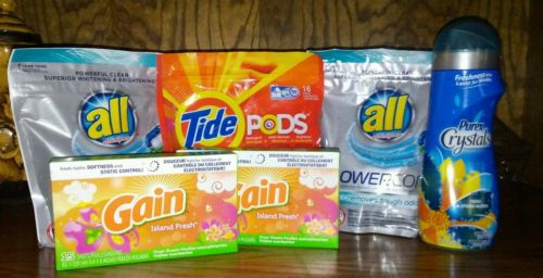 Bulk laundry detergent
