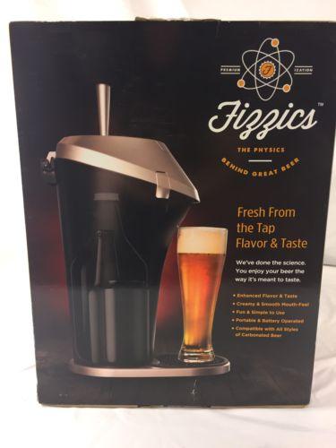 Fizzics Beer System Fresh Draft Taste Tap Keg Portable Brew Dispenser SEALED