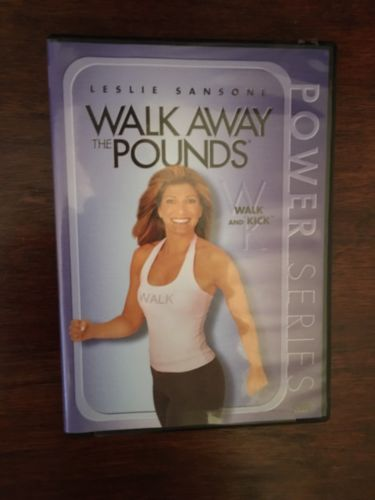 Leslie Sansone~ Walk Away the Pounds ~ DVD~ New