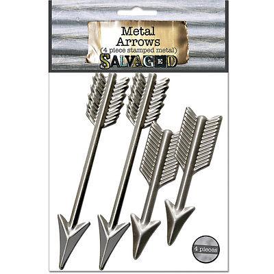 Salvaged Arrows 4/Pkg- T4ARROW