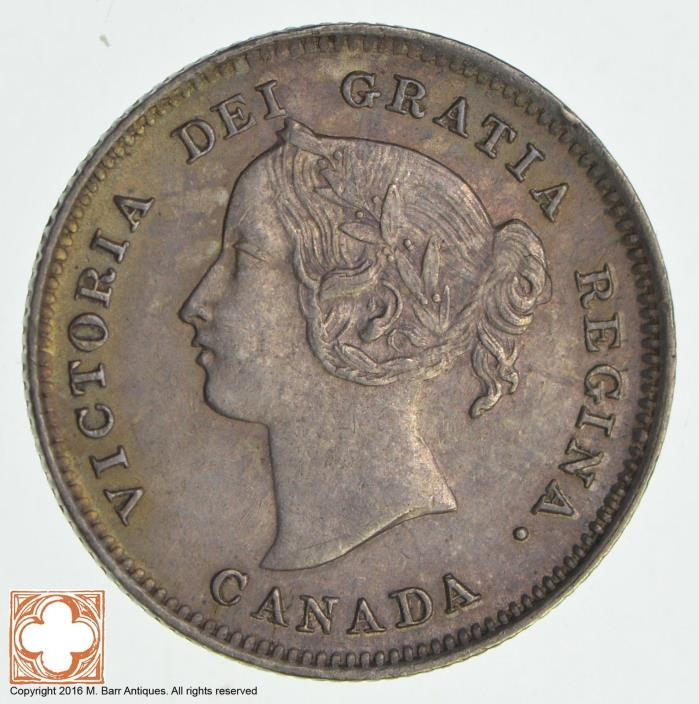 1899 Canada 5 Cents *8508