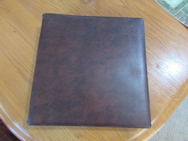 22 Ring Binder Sheet File / Stamp Album 50 Page