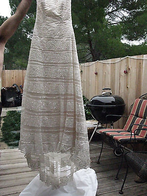 MAGGIE SOTTERO WEDDING DRESS/GOWN ~ sz 6 ~ WORN ONCE