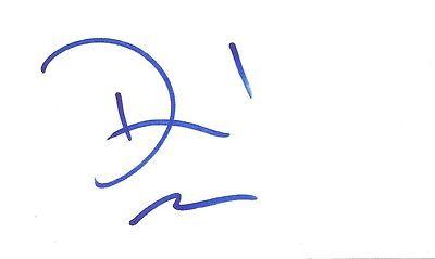 David Caruso, CSI: Miami, Kiss of Death, NYPD Blue, Mad Dog and Glory, autograph