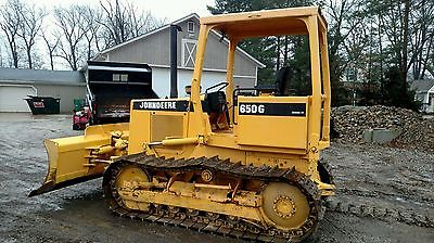 1996 John Deere 650G Crawler Dozer Brand New Undercarriage