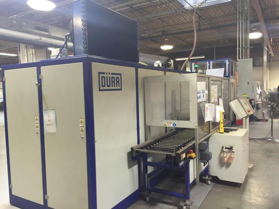 Durr Compact 80C Parts Washer with Automatic Loader