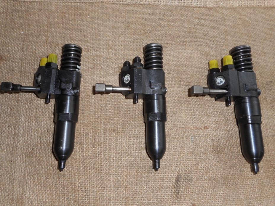 (3) Detroit Diesel INJECTORS M50. 53 series 353 453 6V53