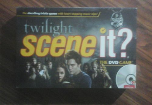 Twilight Scene It? DVD Game By Mattel Brand New Sealed
