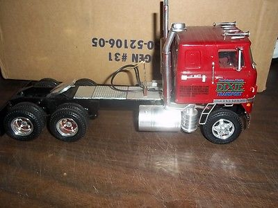 AMT INTERNATIONAL TRANSTAR COE SEMI TRUCK VINTAGE BUILT KIT AWESOME