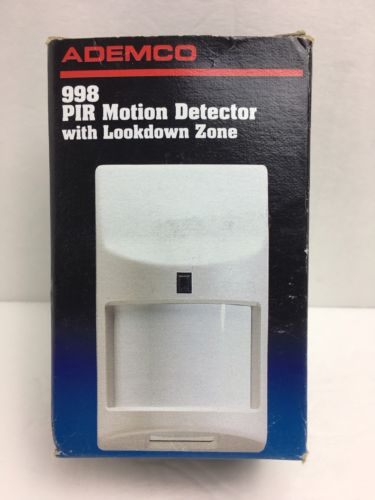 Ademco 998 PIR Motion Detector with Lookdown Zone FREE SHIPPING