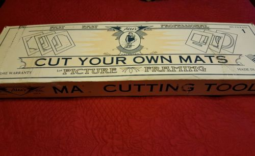 Alto's Mat Cutting Tools Picture Framing Set in Box  Used Big Package #1 good