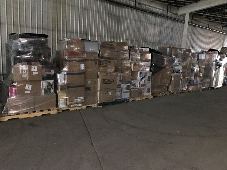 Wholesale Walmart Truckload 24 Pallets,Houseware,General Merchandise