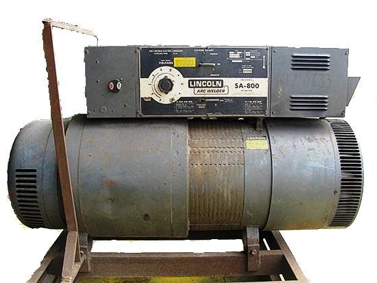 Lincoln Arc DC Welder SA-800